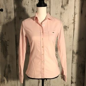 Lacoste Woman's Button-Down Shirt